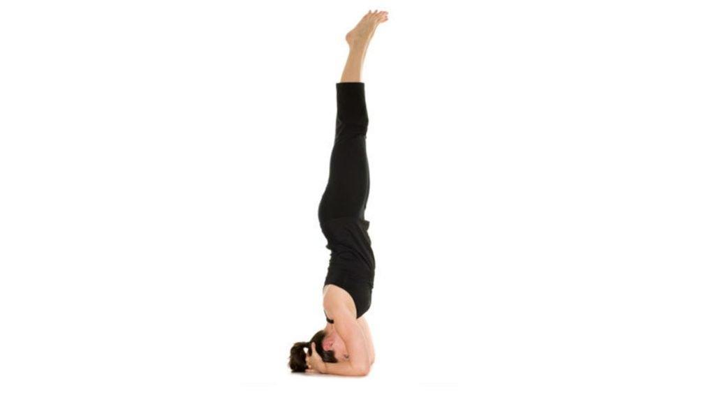 Sirsasana-Head-Stand-yoga-for-hair-growth